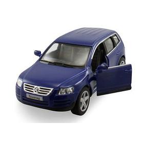 Welly - Volkswagen Touareg model 1:34 modrý
