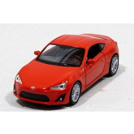 Welly - Toyota 86 model 1:34 červená