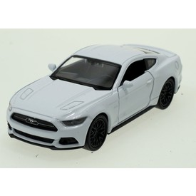 Welly - Ford Mustang GT (2015) model 1:34 bílý