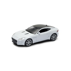 Welly - Jaguar F-Type Coupe model 1:34 bílé
