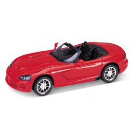Welly - Dodge Viper SRT-10 (2003) model 1:34 červený