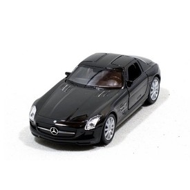 Welly - Mercedes-Benz SLS AMG model 1:34 černý