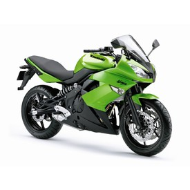 Welly - Motocykl Kawasaki Ninja 650R model 1:10 zelený