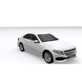Welly - Mercedes-Benz E-Class (2016) model 1:34 bílý