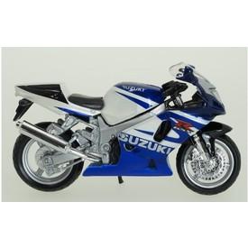 Welly - Motocykl Suzuki GSX-R750 model 1:18 modrý