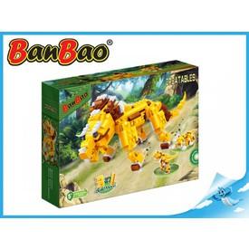 BanBao stavebnice - Creatables - postav si zvíře 3v1 lev 328ks