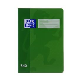 OXFORD Školní sešit A5 540 nelinkovaný 40 listů zelený