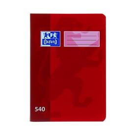OXFORD Školní sešit A5 540 nelinkovaný 40 listů červený