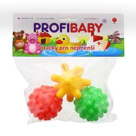 PROFI BABY Stimulační balónky 3 ks