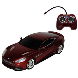 Welly - Aston Martin Vanquish model RC 1:24 hnědý