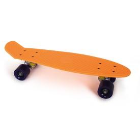Skateboard oranžový neon