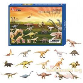 3D puzzle - Dinosauři - 16ks