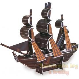 3D puzzle - Pirátská loď Pearl