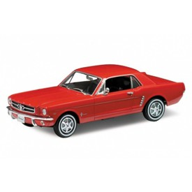 Welly - Ford Mustang (1964-1/2)  model 1:18 červený