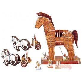 3D puzzle - Trojský kůň