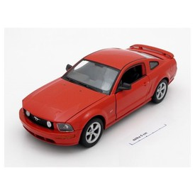 Welly - Ford Mustang GT 2005 model 1:24 červený