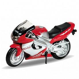 Welly - Motocykl Yamaha YZF1000R Thunderace (2001) model 1:18 červená