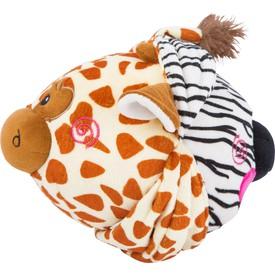 Látkový balónek zebra a žirafa