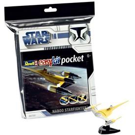 Revell EasyKit Pocket Star Wars 06730 vesmírná loď Naboo Starfighter