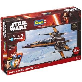 Revell EasyKit Star Wars 06692 loď Poe´s X-WING Fighter