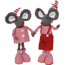 Plyšový pár myšek Nela a Anton