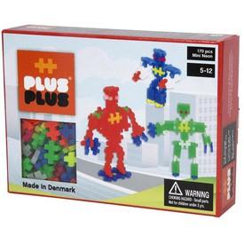 Plus-Plus Stavebnice Mini Neon 170 Roboti