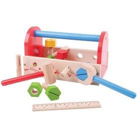 Bigjigs dřevěné hračky - Moje nářadí v přepravce