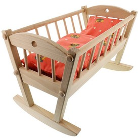 CEEDA CAVITY Dřevěná Kolébka pro panenky