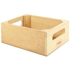 Dřevěná krabička na dřevěné potraviny