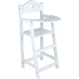 Jídelní židlička pro panenky vysoká