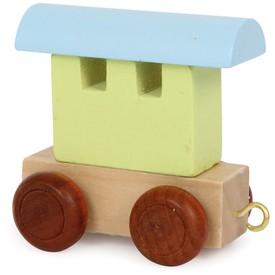 Legler Vláček abeceda - Barevný vagónek