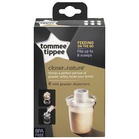 TOMMEE TIPPEE Dávkovač na sušené mléko C2N 6 ks