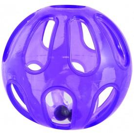 SASSY Chrastítko malý a velký míček fialové
