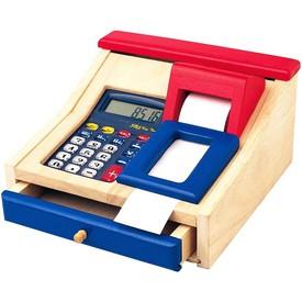 Dřevěné hračky - Dětská elektronická pokladna