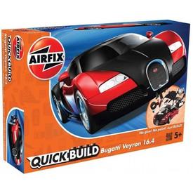 Revell Airfix Quick Build auto J6020 - Bugatti Veyron červená