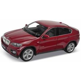 Welly - BMW X6 1:18 červená