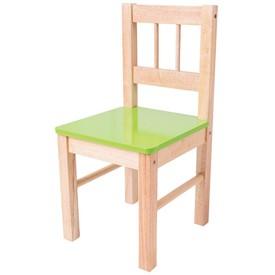 Bigjigs dřevěná židle zelená