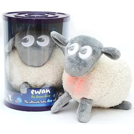 SWEET DREAMERS Ewan Uspávací ovečka šedá
