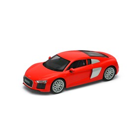 Welly - Audi R8 V10 (2016) model 1:24 červený