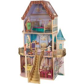 KidKraft - Dřevěný domeček pro panenku - Disney Princezna Belle