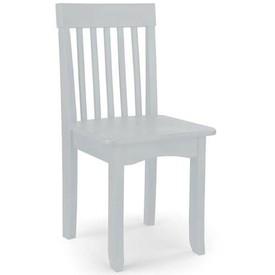 KidKraft - Dřevěná židlička bílá