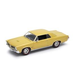 Welly - Pontiac GTO model 1:34 zlatý