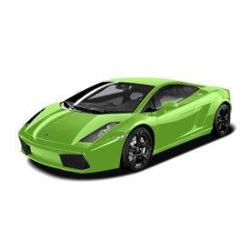 Welly - Lamborghini Huracan LP610-4  model 1:34 zelené
