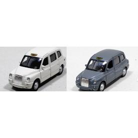 Welly - The London Taxi TX4 model 1:34 šedé