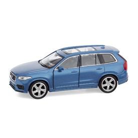 Welly - Volvo XC90 model 1:34 modré
