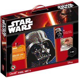 Quercetti Pixel Art 4 Star Darth Vader
