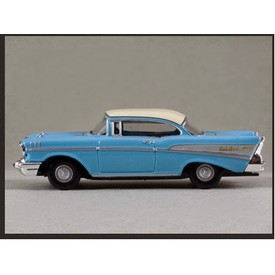 Welly - Chevrolet Bel Air (´57)1:34 modré