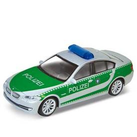 Welly - BMW 535i 1:34 policie zelené