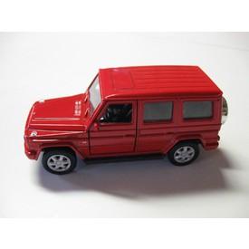 Welly - Mercedes-Benz G-Class model 1:34 červený