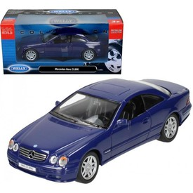 Welly - Mercedes-Benz CL600 model 1:34 modré